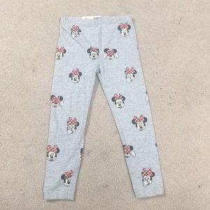 Girls Minnie Mouse Leggings